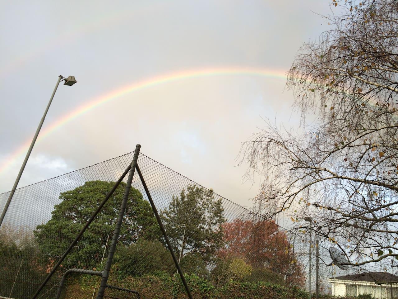 墨尔本的彩虹