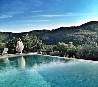 Lux 18 Century villa with pool - Paciano