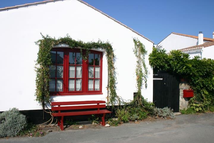 Chambre  simple et sympa - 2 lits - Noirmoutier-en-l'Île - Bed & Breakfast