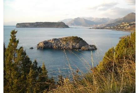 Chalet with garden on panoramic sea view - San Nicola Arcella