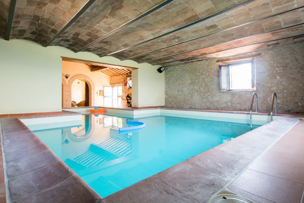swimming pool is shared with other apartments (opened 1st of June through 31th August)