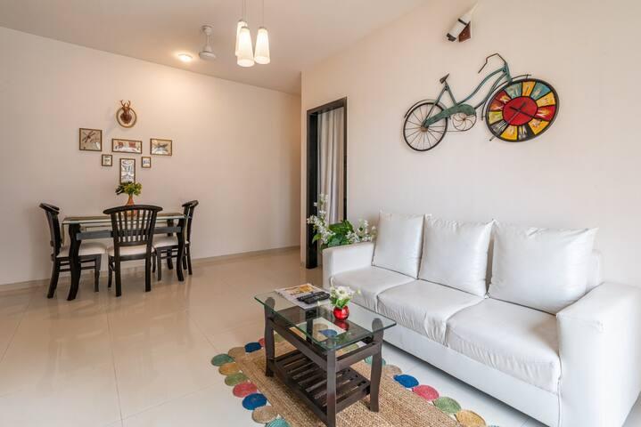 Spanish Style-2 BHK Apartment