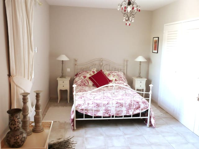 Pretty bedrooms and each room has its own en-suite...