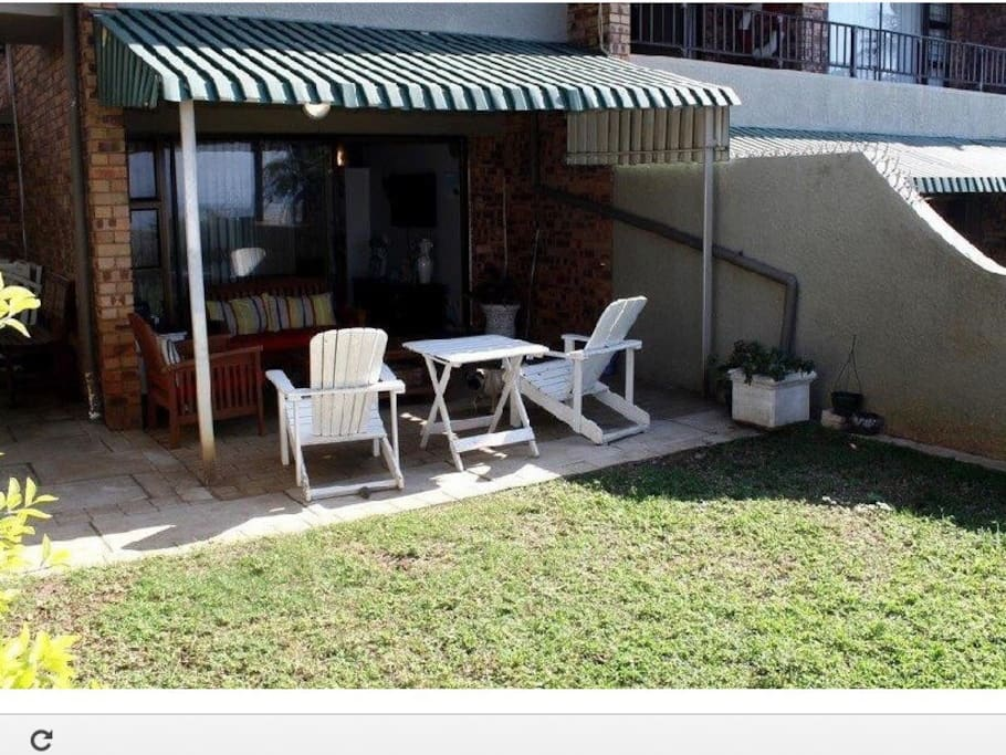 Lovely private, fully enclosed garden