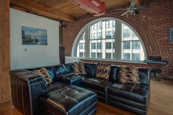 Unbelievable Loft in Downtown STL - St. Louis - Loft