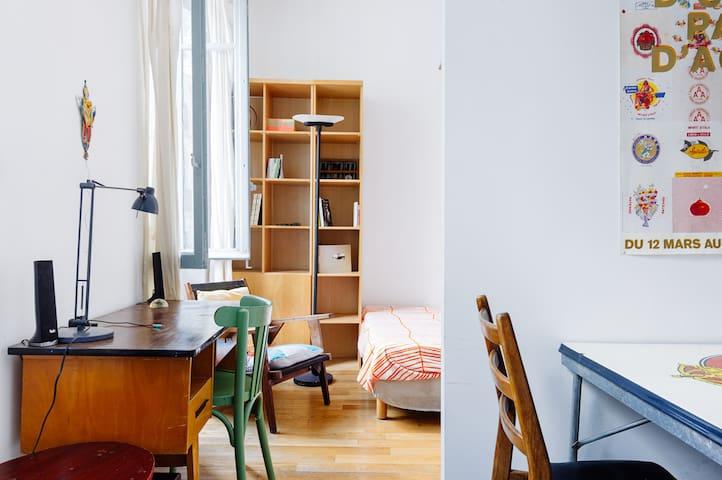 Small studio in the center of Marse - Marseille - Byt