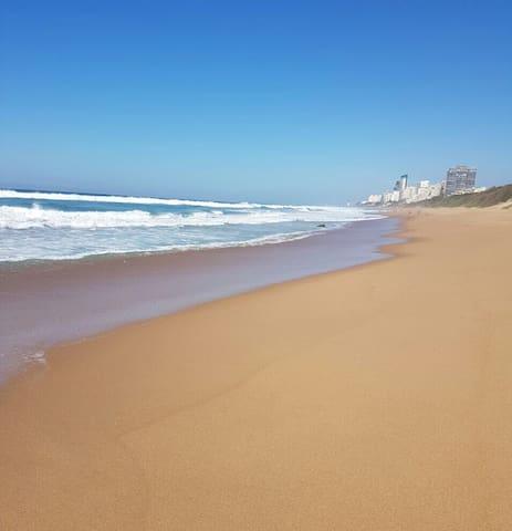 Morning walks on Strand beach