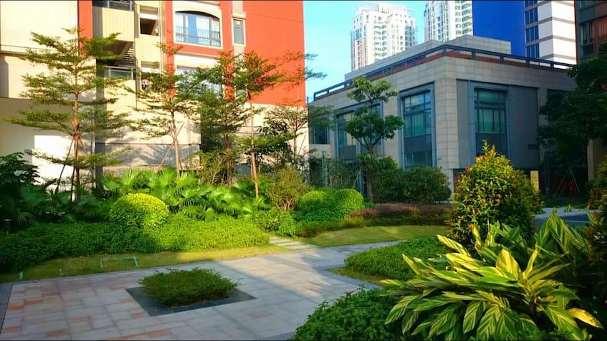 超方便高级住宅区。两分钟到地铁站!一站地到祖庙站!2 Minutes to Metro - Foshan - Apartament
