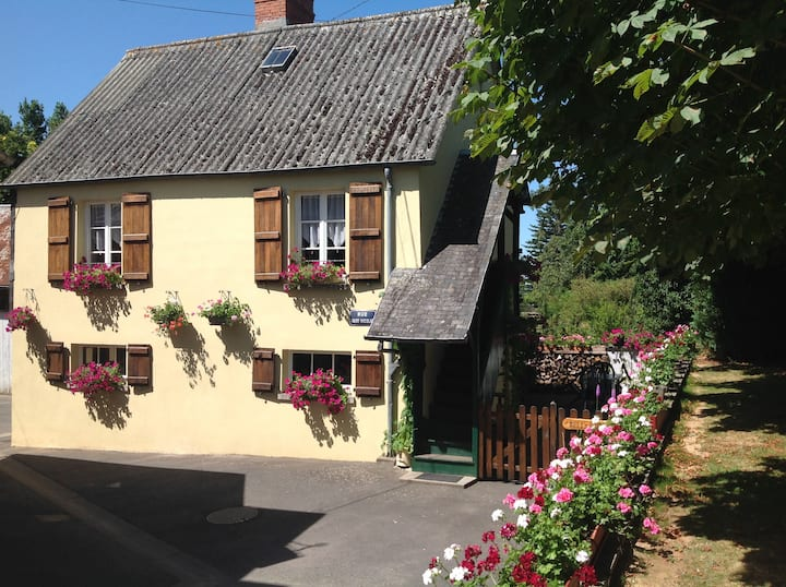 The Bell's End Cottage in Lower Normandy France