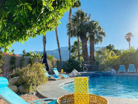 Dreamy Palm Springs Villa w pool, spa, views