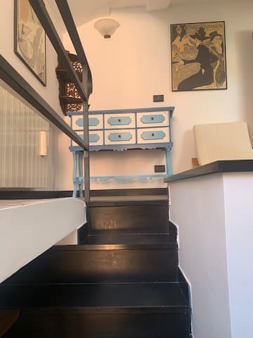 scala per il soppalco