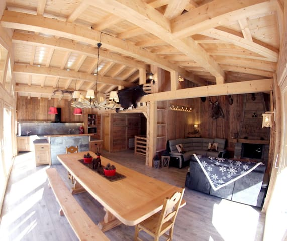 Chalet savoyard, construction neuve de 2016 - Tignes
