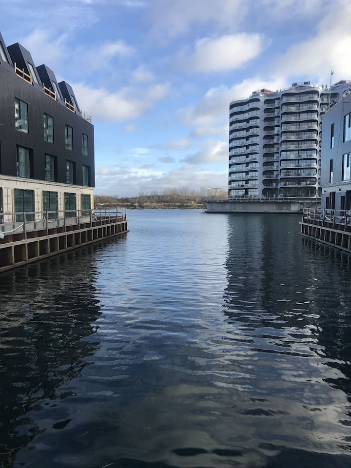 Large modern 3 bedroom apartment in the Copenhagen South Harbour