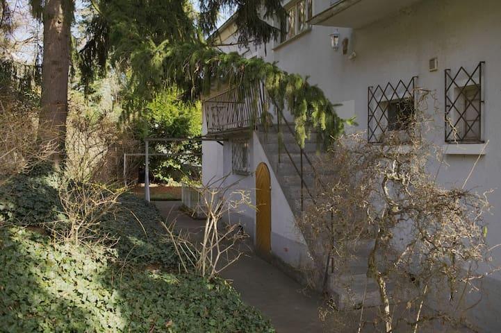 Die Treppe zur Wohnung