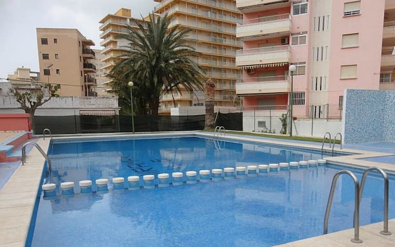 APART. 4 PLAZAS CON PISCINA A 300 MTS DE LA PLAYA - Lloret de Mar - Appartement