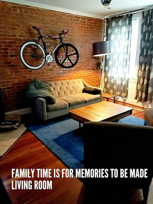 LIVING ROOM WHERE MEMORIES ARE MADE