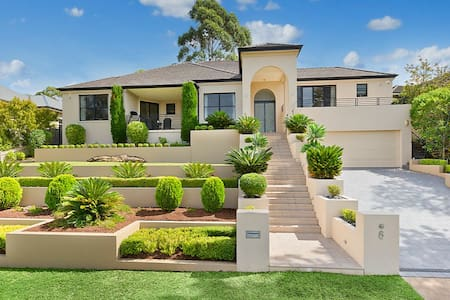 5 bedroom luxury holiday house - West Pymble - House