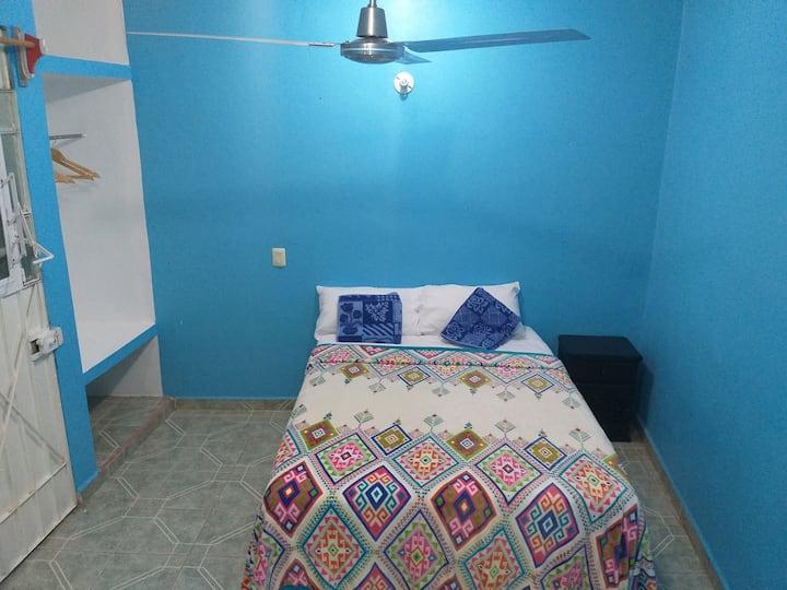 Casa BonZay, habitación con balcón