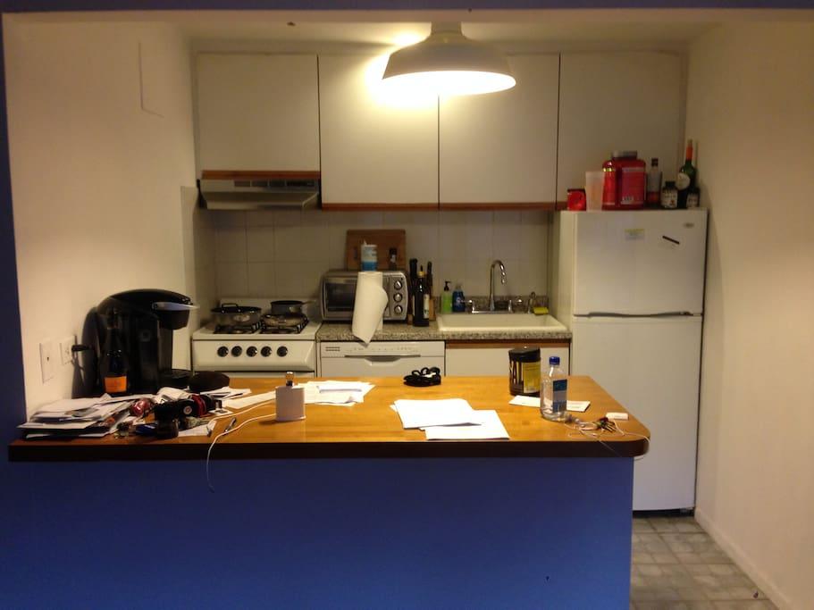 Working full kitchen