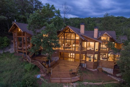 Luxury Mountain Home - Over the French Broad River - Asheville