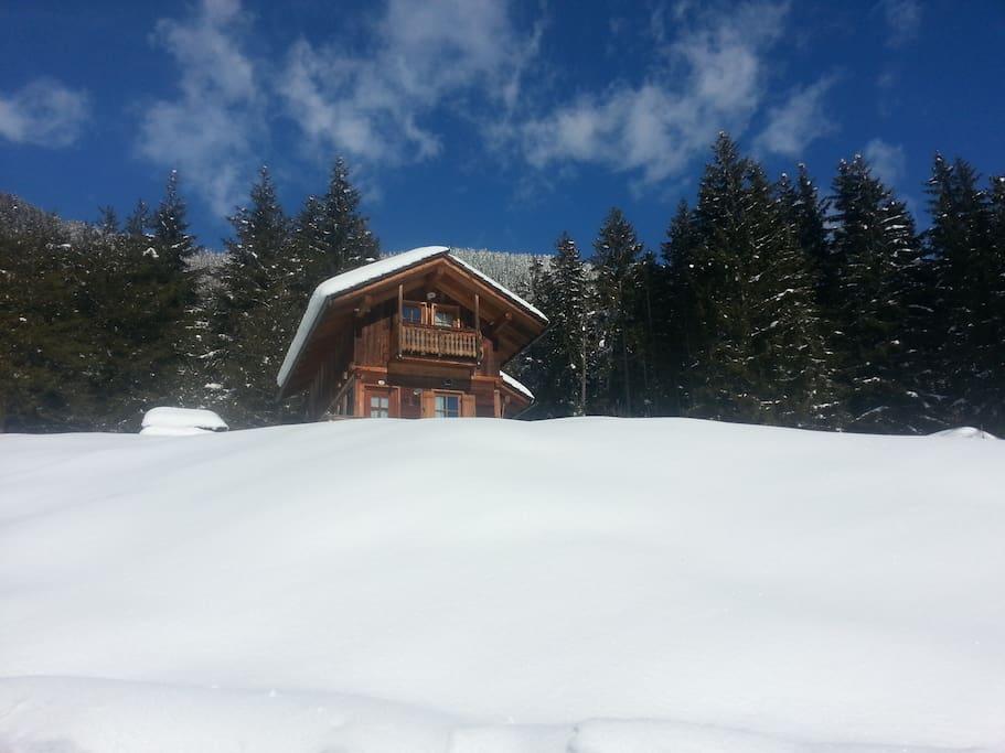 Vivere la montagna d'inverno