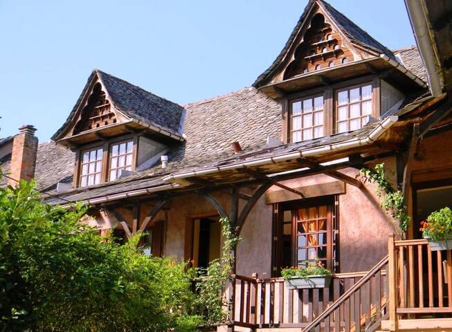 charmante maison calme, spacieuse