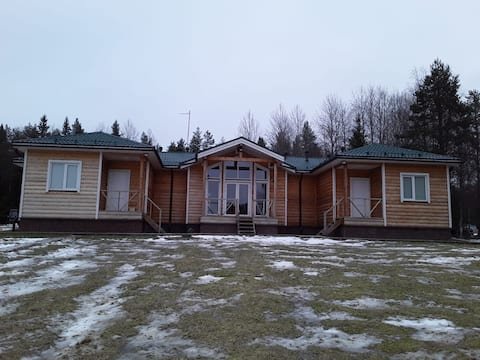 Vashukovo Base Tour: Guest Apartments