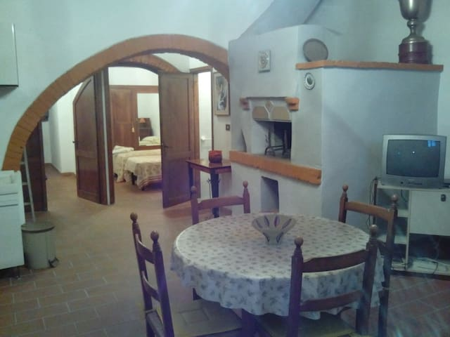 Appartamento con piscina - San Ruffino - Apartment