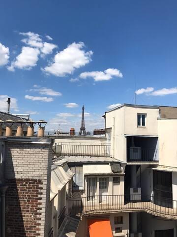 Charmant studio 10 min à pied de la Tour Eiffel