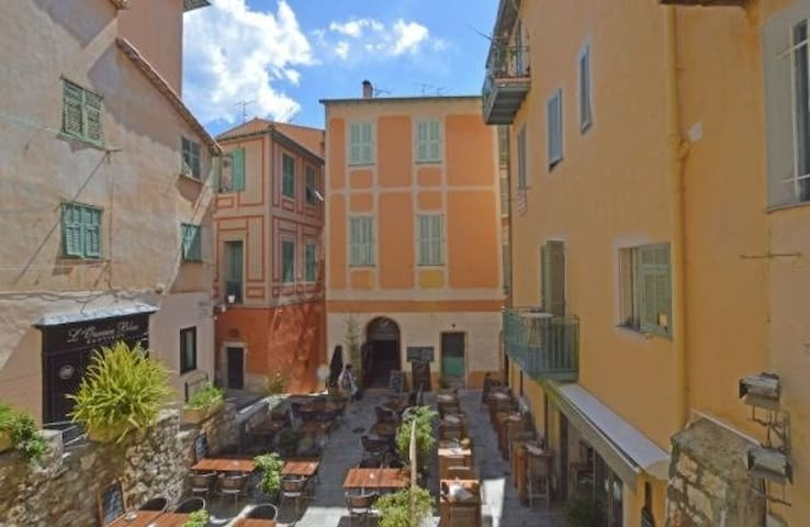 Charming apt in the old town - Villefranche-sur-Mer - Apartment