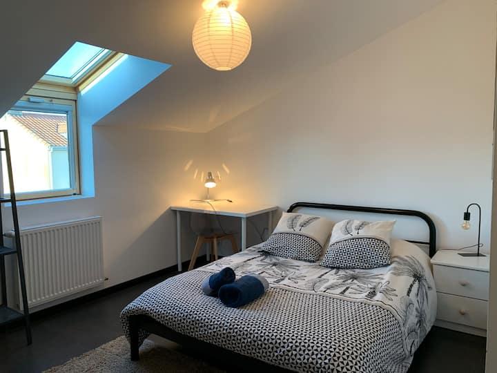 Chambre double moderne tout confort à Sainte Luce
