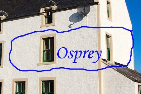 Osprey, a large en suite  bedroom in Ferry House - Balblair