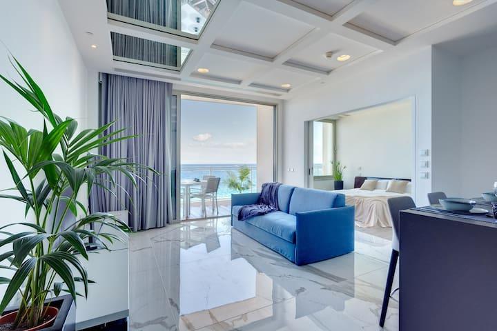 ★Stunning Sea Views★w/Pool, Terrace, Tigne Point