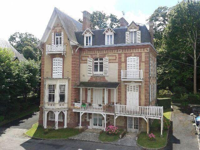Villers , Villa charme studio 40m2 - Villers sur mer - Appartement