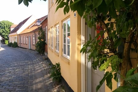 RIBEHUSET: CHARMING PRIVATE APPARTMENT 1.FLOOR - Ribe