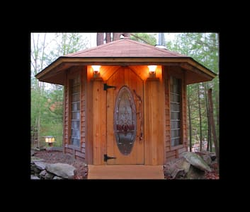 Artist Home, Art Cabin in the Woods - Greeley - 小屋