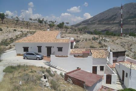 Negratin Apartamento Casa Cueva - Zújar - Daire