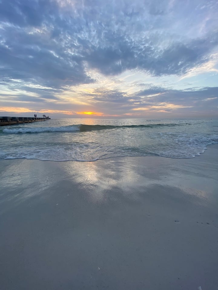 Beach, Pool and Sunsets await you