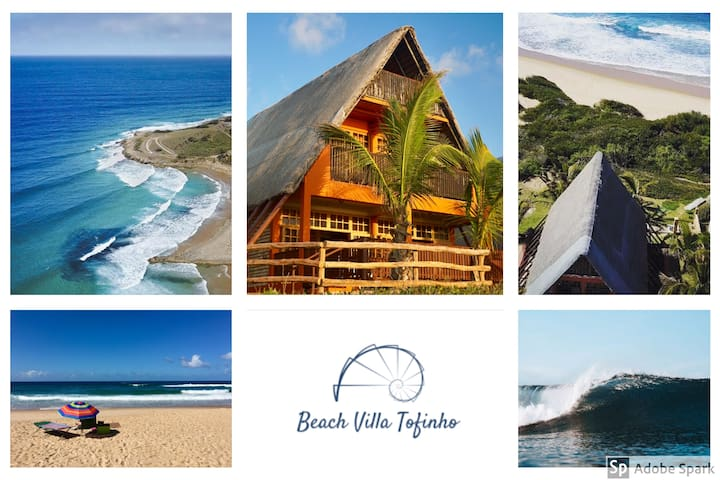 Beach Villa Tofinho/Tofo BEST BEACH LOCATION! Wifi