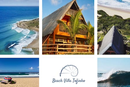 Beach Villa Tofinho in Tofo, best beach location