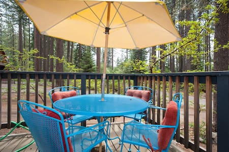 King Beach Rustic Lakeside Sunny Tahoe CabinUnit A