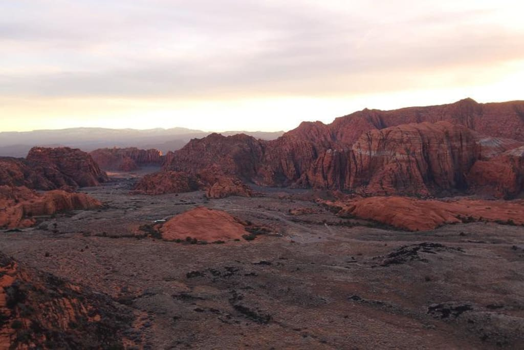 15 minute drive to Snow Canyon
