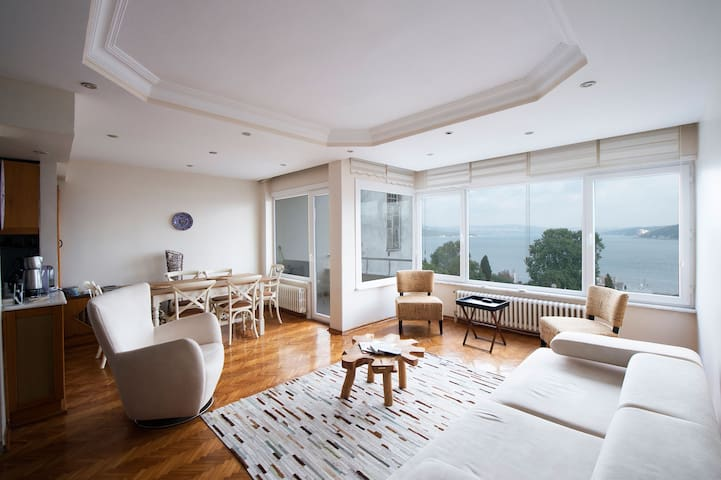 Bosphorus View, Quiet Bosphorus,Nature, All in one - Sarıyer - Apartment
