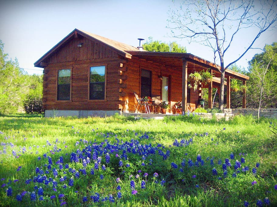 Romantic Log Cabin On Smith Creek Cabins For Rent In