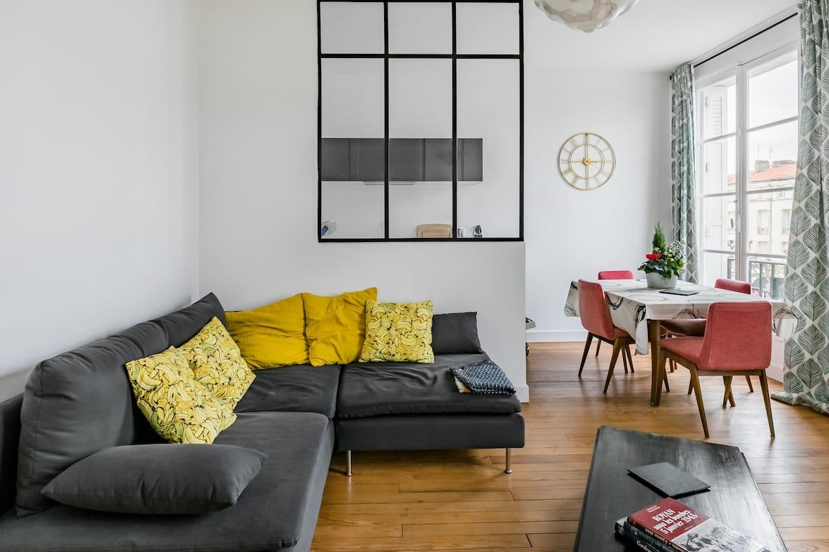 Bel appartement atypique, moderne et chaleureux au cœur de la station balnéaire