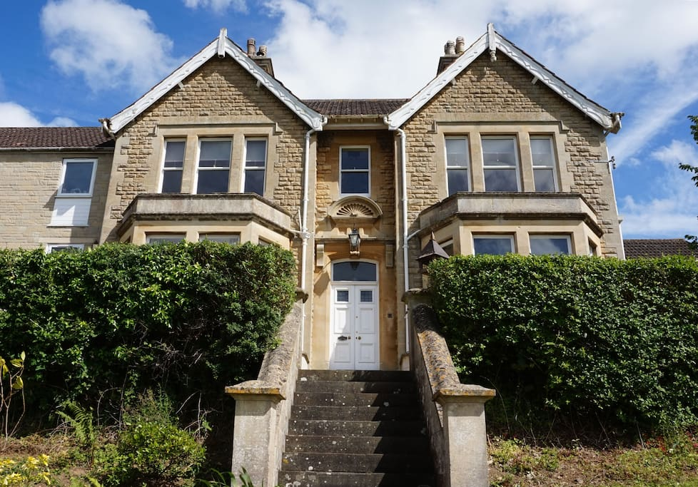 Double-fronted period property