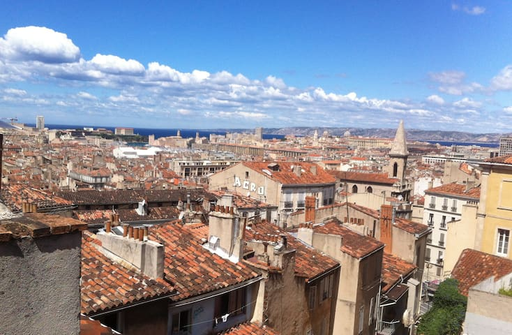Nice appartment with an exceptional view - Marseille - Lägenhet