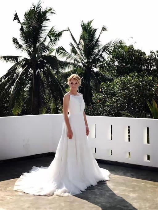 客人 婚纱照取景