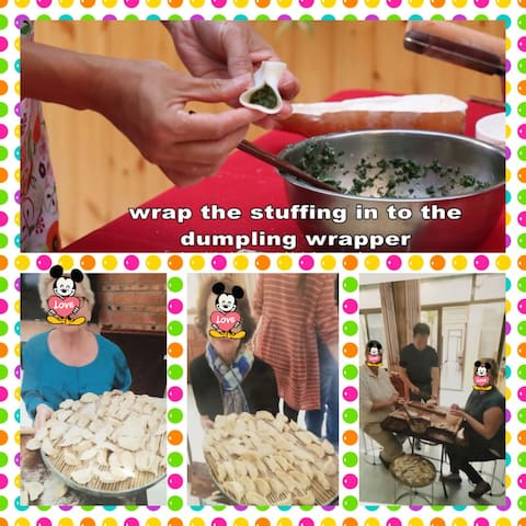 Attend a small class making dumplings
