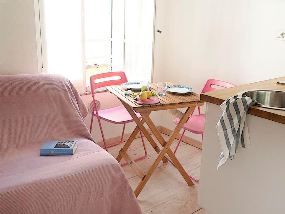 one room apartment 10mq  il nido
